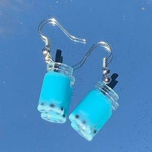 Blue Boba Earrings